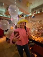 女優のスヒョン、結婚後初めての誕生日を迎え幸せなピザパーティーでお祝い(提供:OSEN)